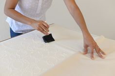Glue basting your quilt is an excellent way to keep it from shifting. This tutorial gives you all the steps you need.                                                                                                                                                                                 More