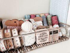 Little Hannah: Almacenamiento craft: la cesta más bonita del mundo