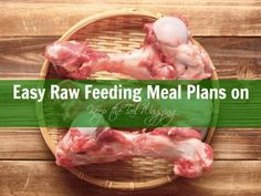 Easy Raw Feeding Meals on Keep the Tail Wagging  One of my favorite blogs is My Rotten Dogs, because she's living my life and I'm living hers.  We have lots of dogs, we live on land, we feed raw, and we blog about it.  Here's a easy raw feeding meal plan inspired by her pack!  Blog Post: http://www.keepthetailwagging.com/my-rotten-dogs-shares-an-easy-raw-feeding-meal-plan/