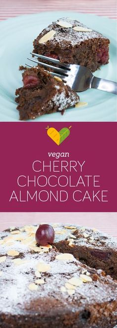This luscious cake will be the star at any party! It's very rich in flavour, chocolatey and moist and perfect for special occasions, yet fairly easy to make. And the combination of cherries, chocolate and almonds is very indulgent without being too heavy.