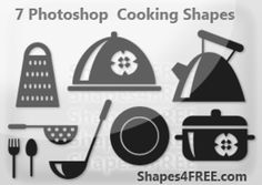 7 Beautiful Cooking Shapes. *