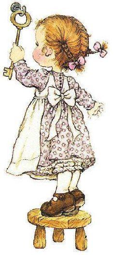 Las tiernas imagenes de Sarah Kay                                                                                                                                                                                 Más Holly Hobbie, Niedliche Illustration, Graphic 45, Anne Of Green Gables, Digi Stamps, Ma Petite, Cute Illustration, Paper Dolls, Poster