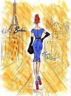 Hayden Williams For Barbie BFMC - Barbie ♥ Paris!