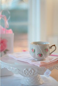 Sometimes the best tea party we can throw, is one all for ourself.
