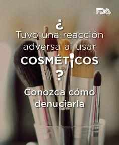 Usted es uno de los recursos más importantes de la FDA para descubrir problemas con el maquillaje y otros productos de belleza e higiene. Díganos si algún producto le causa problemas. #cosméticos http://go.usa.gov/3A4Qz