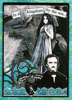 ATC - Annabelle Lee ~Unavailable~ by Nostalgic Collage, via Flickr