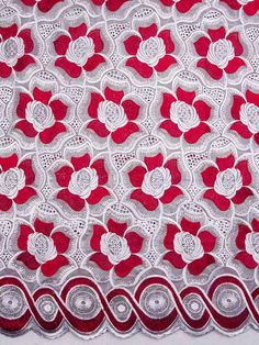 Beautiful African Swiss Voile laces at…