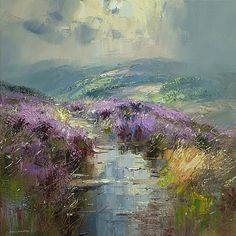 Rex Preston | Reflections in a Wet Path, Burbage Moor