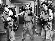 Ghostbusters is a 1984 American comedy film directed by Ivan Reitman and written by Dan Aykroyd and Harold Ramis. Description from thefemalecelebrity.com. I searched for this on bing.com/images