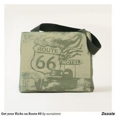 Get your Kicks on Route 66 Tote