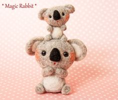 【Magic Rabbit】♥ Felt Wool Doll