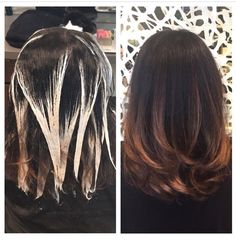how to balayage with highlights - Google Search