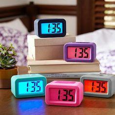 I love the Bright Side Alarm Clock on pbteen.com