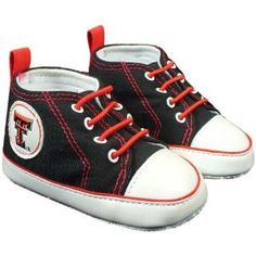 Texas Tech Red Raiders Infant Soft Sole Canvas Shoe