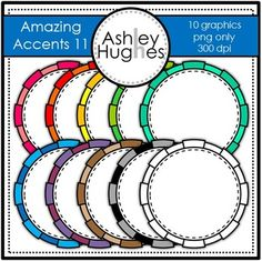 Amazing Accents FREEBIE #11 {Graphics for Commercial Use}
