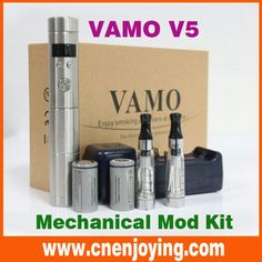 35% off,onsale New 2014 #Vamo #V5 #Mechanical #Mod Body Variable Voltage Battery Mod for 510 #EGO #VIVI NOVA, #Protank DCT #Atomizers New http://m.aliexpress.com/item/1741987521.html?tracelog=storedetail2mobilesitedetail We are professional manufacturer with several years experience,specialized in high quality #electronic cigarette#Vaporizer#Atimozer#E-cigarette Battery#CE4#CE5#CE6#eGo#eGo-t…