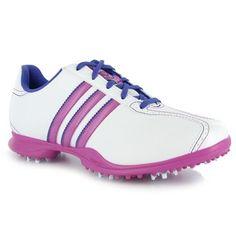 Ladies Adidas hibiscus golf shoes