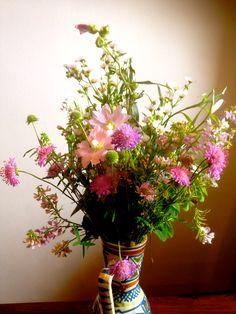 Meadow flowers arrangement