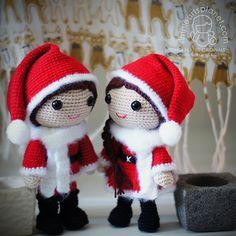 Ravelry: Christmas Lovers - Nisse Julius & Juliane pattern by Lis Sun