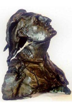Bruno Catalano: bronze sculpture 'The Broken man'