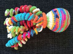 Crochet squid, Katrine 2016