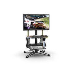 Atlantic 88307053 CD Case Spyder TV Gaming Stand