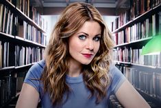 Aurora Teagarden Mystery (2015-).  Young sleuth does much of her work in the library.
