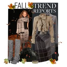 """""""Fall Trends"""" by johnna-cameron on Polyvore"""