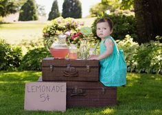 Chelsea Park Photography: Lemonade Stand - Baby - Toddler - Kids Photography