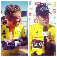 Before / After # TDF  pic.twitter.com/KZbIRsA3n7 Deta - Kittel Bakelants stage 2 winner