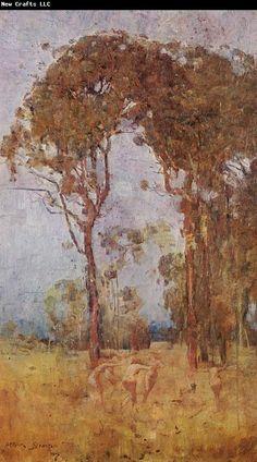 Arthur Streeton, A bush idyll