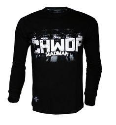 Longsleeve 'CHWDP' - przód ---> Streetwear shop: odzież uliczna, kibicowska i patriotyczna / Przepnij Pina!
