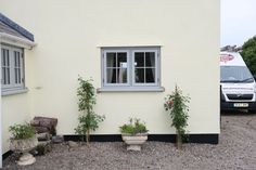 R9 in Painswick timber effect foiled finish with Georgian Bar detail finish #cottage #flushcasement #timberalternative