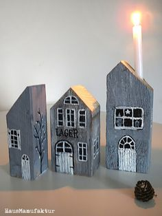 Ihr könnt euch sicher noch an die roten  Schwedenhäuser vom Sommer erinnern,   die aus uralten Holzbalken gefertigt wurden.   Sie w...