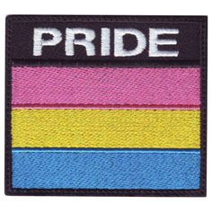 This is forONE patch of your choice. The patches are embroidered. Gay Outfit, Pride Outfit, Pansexual Flag, Lgbtq Flags, Gay Pride, Pride Flag, Pin And Patches, Kpop, Badge