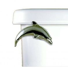 Dolphin Toilet Flush Handle - Front Mount