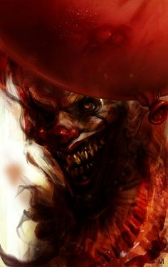"""Creepy """"IT"""" poster art by Nagy Norbert Que Horror, Clown Horror, Creepy Clown, Halloween Horror, Pennywise The Dancing Clown, Send In The Clowns, Horror Icons, Horror Posters, Evil Clowns"""