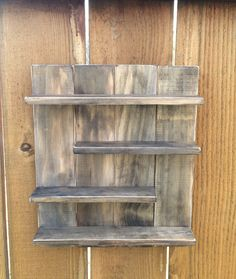 Essential Oil Wood Shelf in Dark Walnut Young Living or doTERRA by SweetLouiseCrafts on Etsy