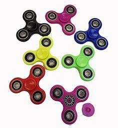Fidget Spinner Hand Finger UK Pocket Desk Focus Ceramic Spinner Toys 2017 Steel Pink...