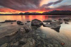 First Light - Lake Tekapo New Zealand