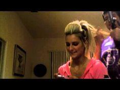▶ Spirit of Texas Hair Tutorial - YouTube! This is the best cheer hair tutorial! #cheerhair #bighair #SOT