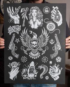 traditiomal tattoos dark - Pesquisa Google