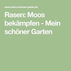 Rasen: Moos bekämpfen - Mein schöner Garten