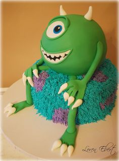 Disney Monster Inc. cakes | Monsters Inc. Cake!