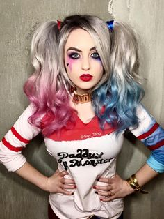 Character: Harley Quinn (Dr. Harleen Quinzel) / From: DC Comics & Warner Bros. Pictures 'Suicide Squad' / Cosplayer: Supermaryface / Event: WonderCon 2016