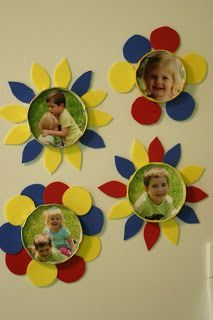 Preschool Crafts for Kids*: Mother's Day Picture Magnets Craft
