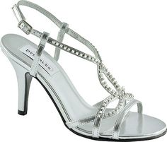 4df8eb0a7b0 Dyeables Womens Elsa TStrap SandalSilver Metallic85 B US     Check out this  great product
