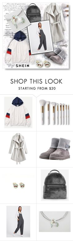 """""""Ice !!"""" by giampourasjewel ❤ liked on Polyvore featuring Terre Mère, UGG, CHARLES & KEITH, Sheinside, polyvorecommunity, polyvoreset and shein"""