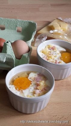 I'll add a bit of truffle supplied by stepmother and a few chanterelles from Sissi, my mushroom finder … COCOTTE HAM-COMTE EGG – Hélène's delights Cooking Time, Cooking Recipes, Healthy Recipes, Chefs, Food Porn, Cuisine Diverse, Good Food, Yummy Food, Salty Foods