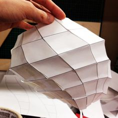 Parametric - Rhino - Unrolling surfaces